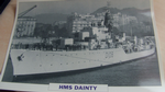 HMS Dainty 1950 Destroyer warship framed picture (5)